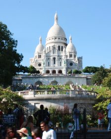 Sacre Coer Kirche in Paris