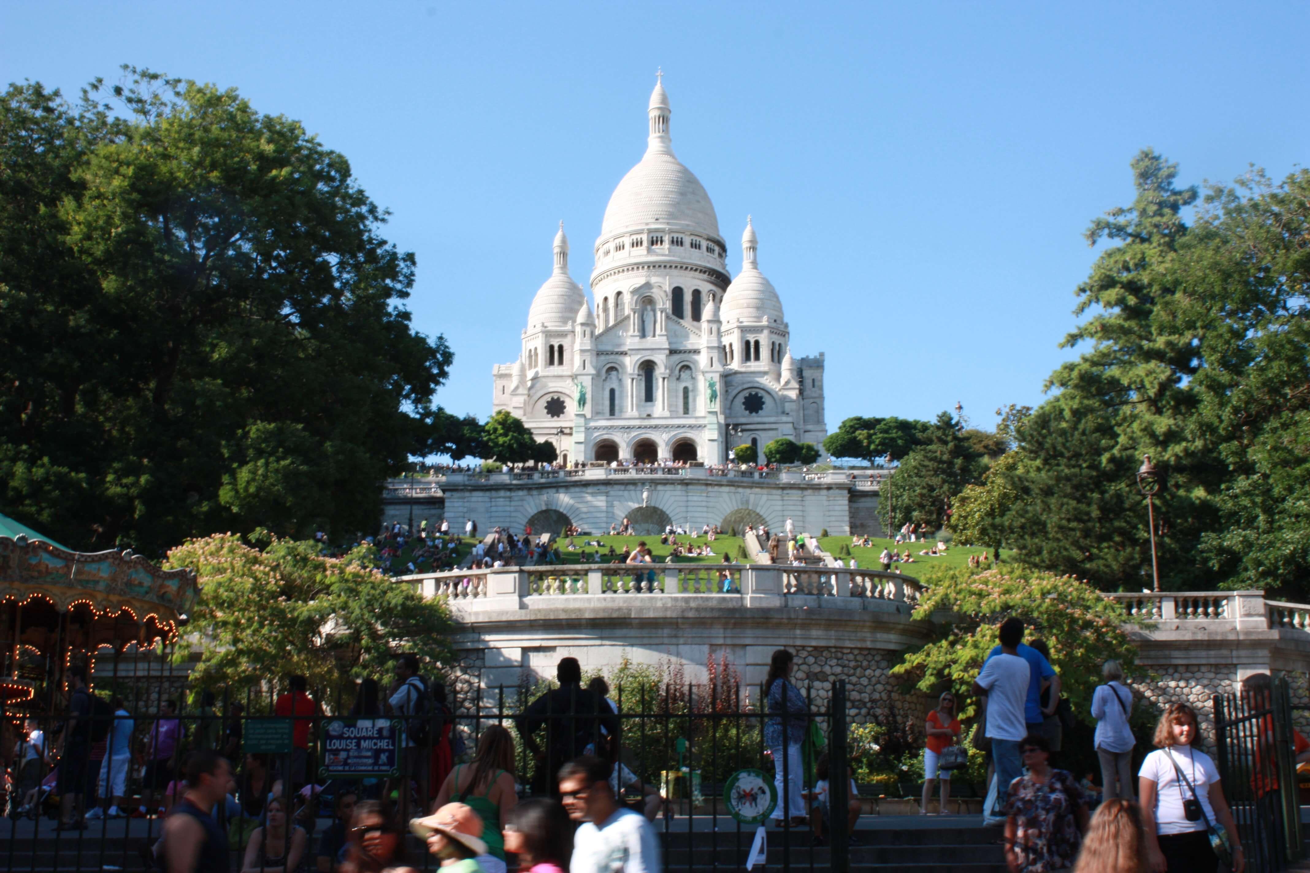 Sacre Coer Kirche in Paris