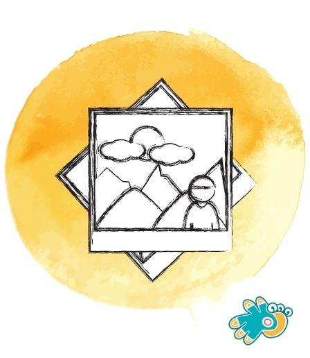 Erinnerungsbilder gemalt vom Atelier Klexx
