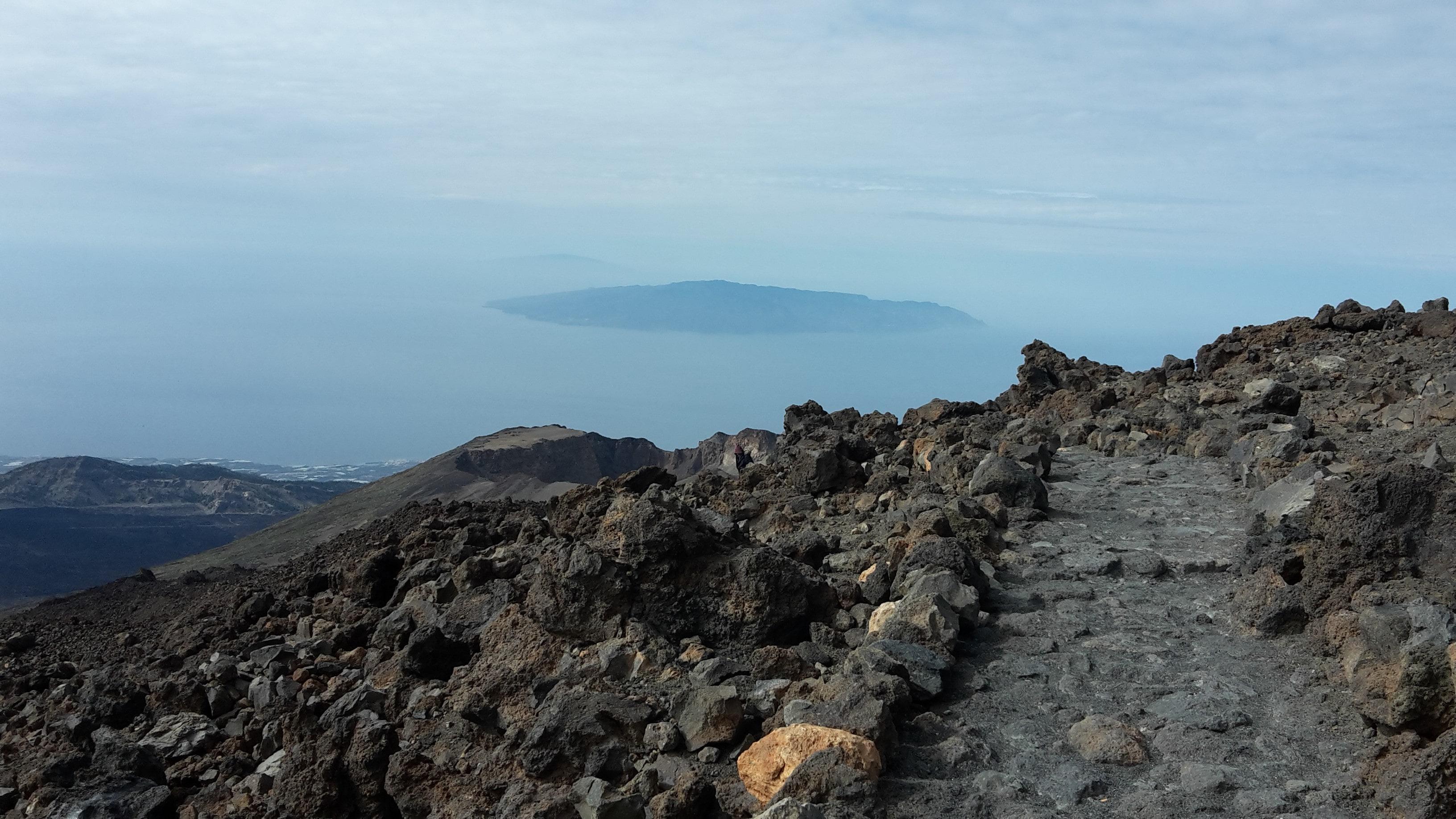 Aussicht auf Insel