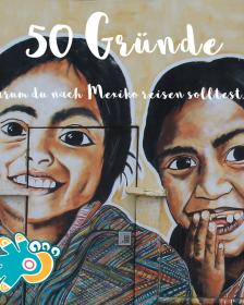 Mexiko Mädchen Streetart