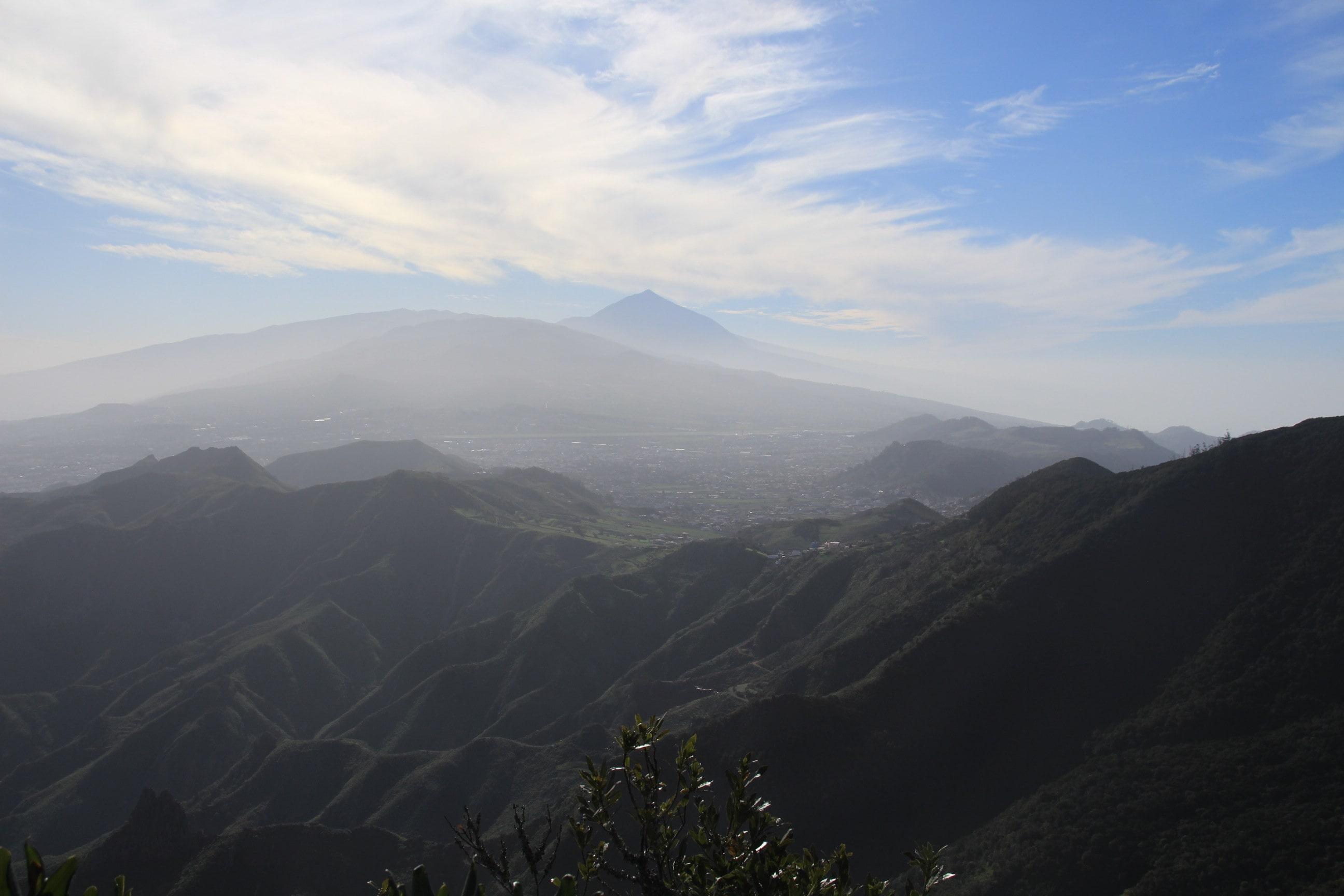 Mirador pico del ingles aussicht zum Teide