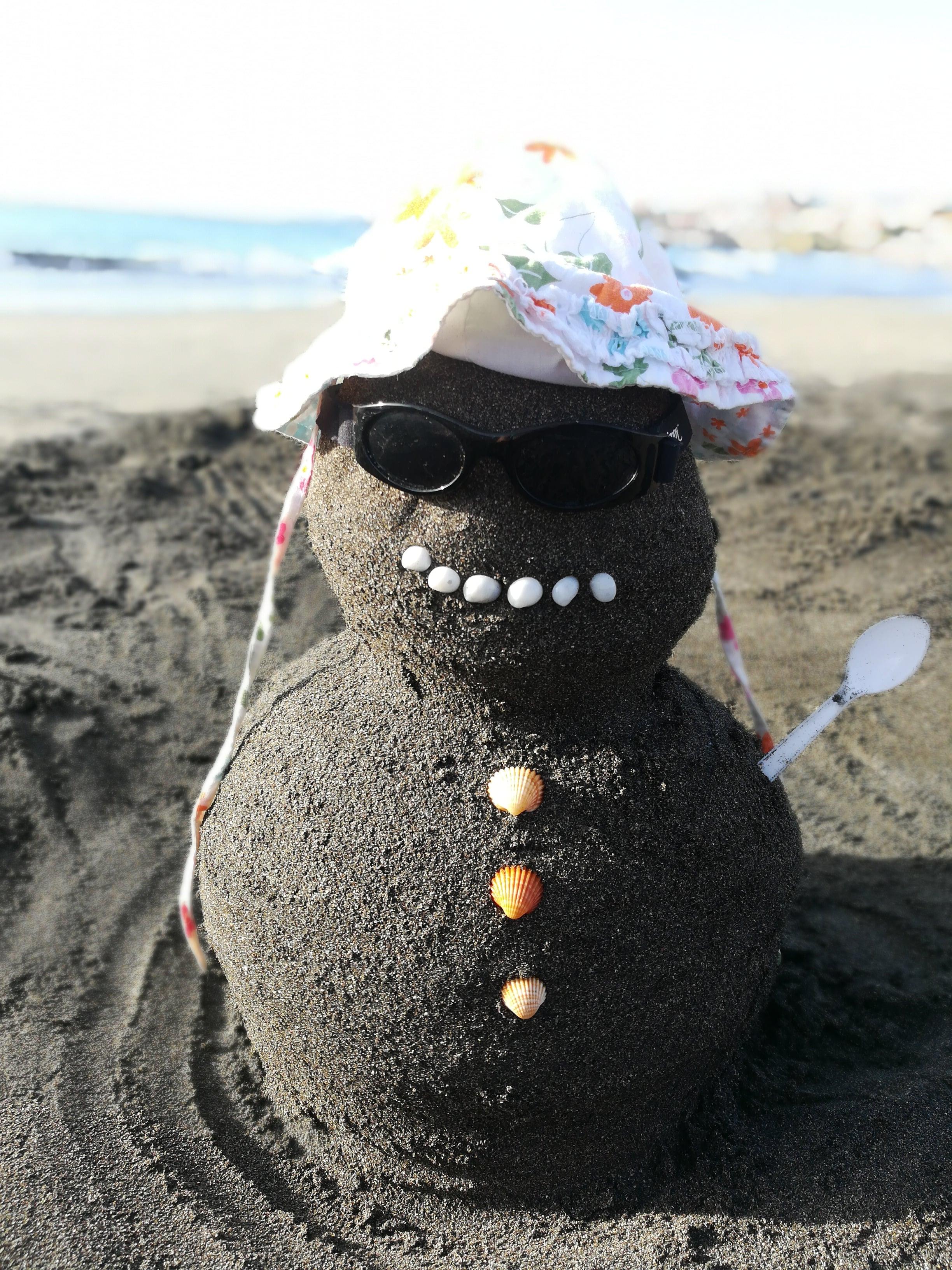 Sand-Schneemann#