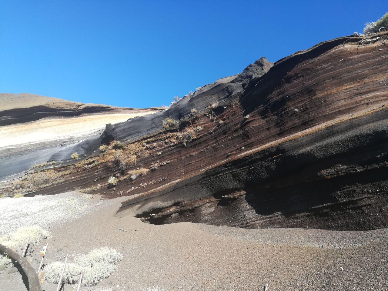 Tarta del Teide schräg