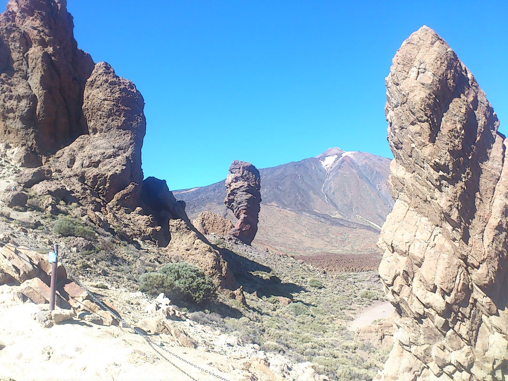 Teide Felsformationen
