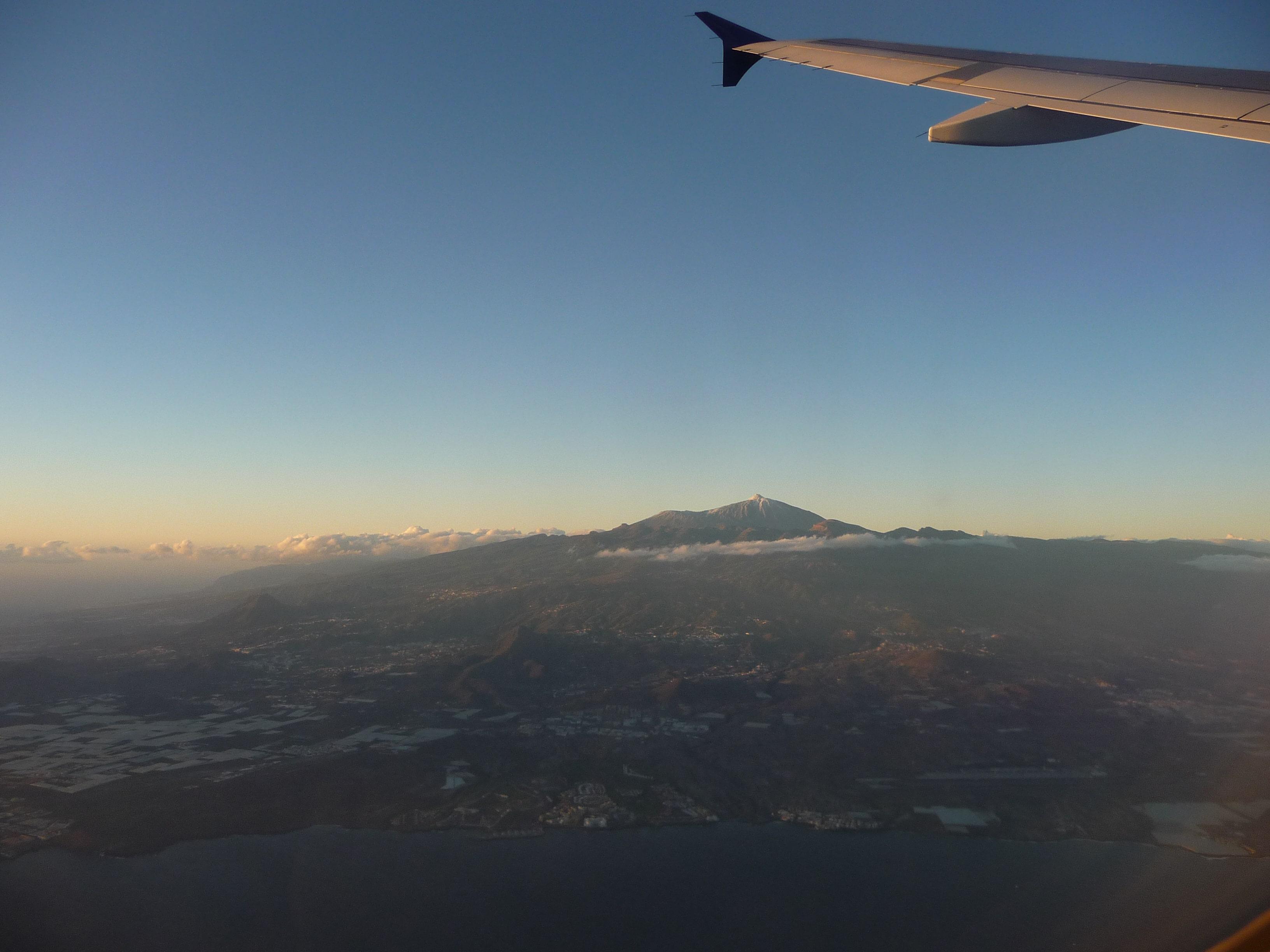Teide_Teneriffa_Flugzeug
