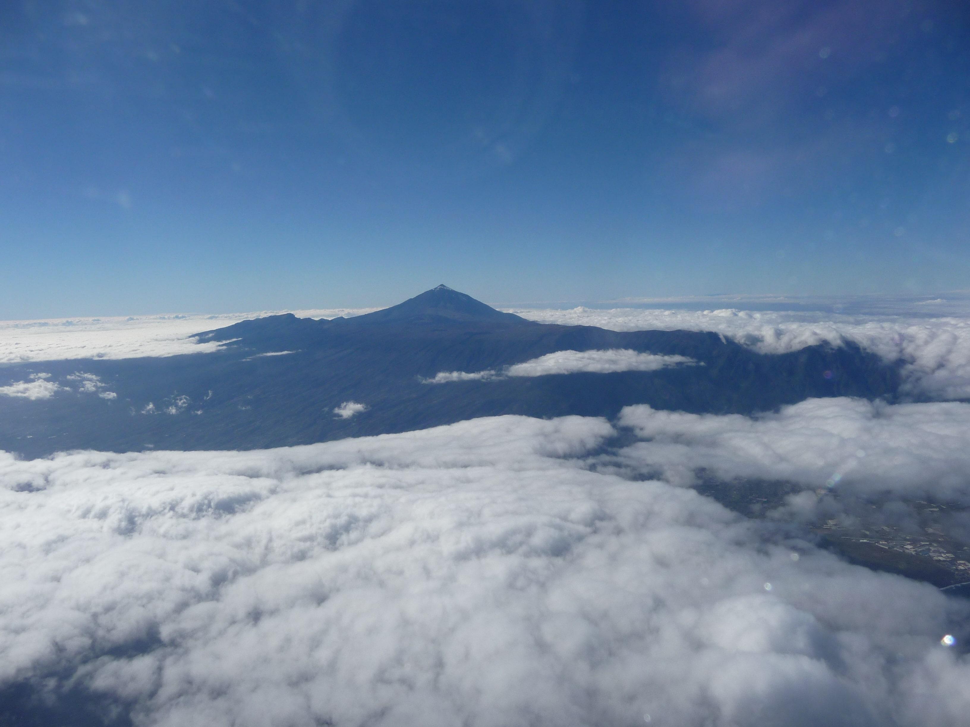 Teide_Wolken