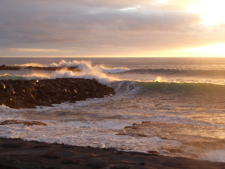 Teneriffa Abendsonne Meer