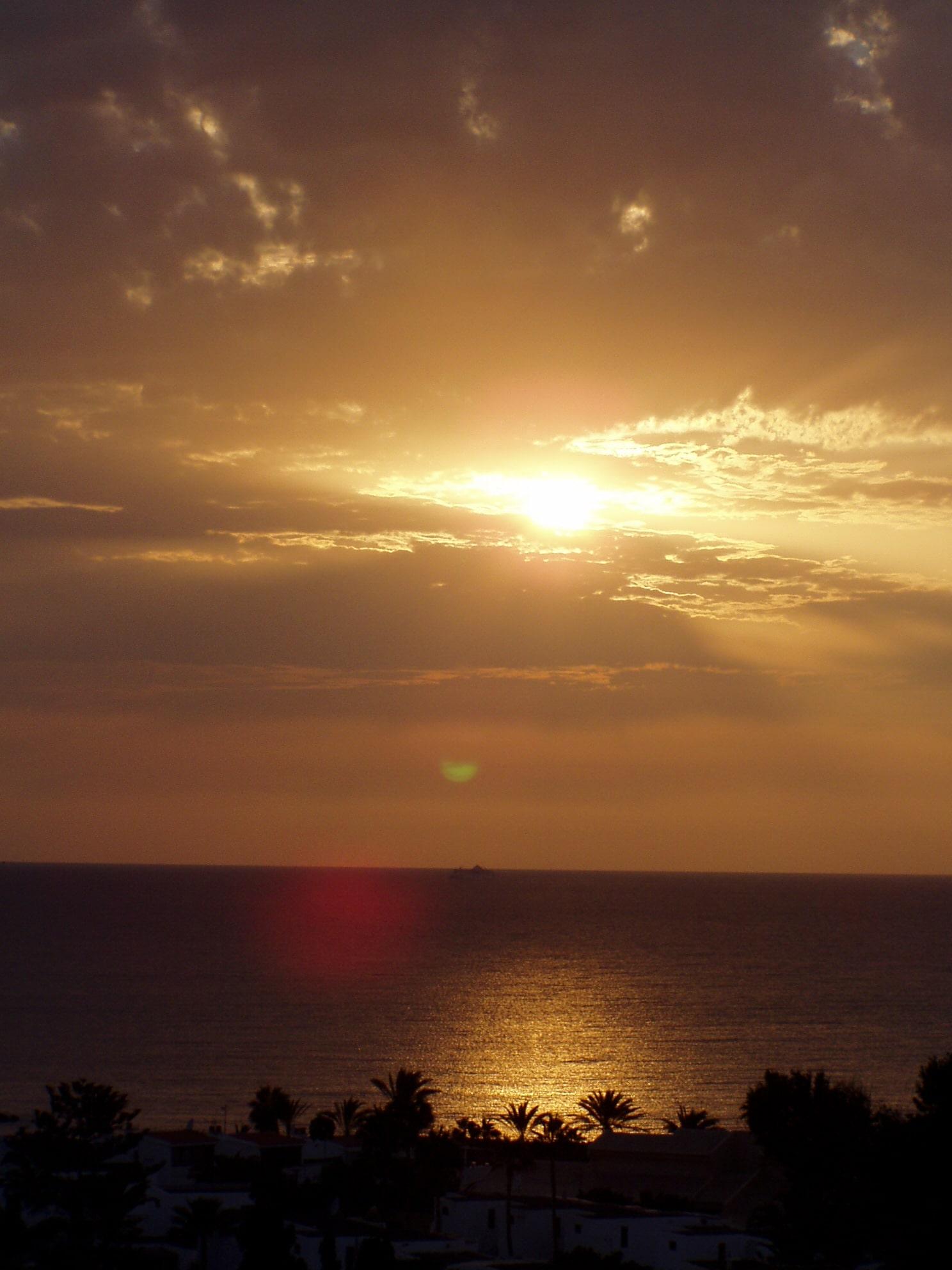 Teneriffa Abendsonne