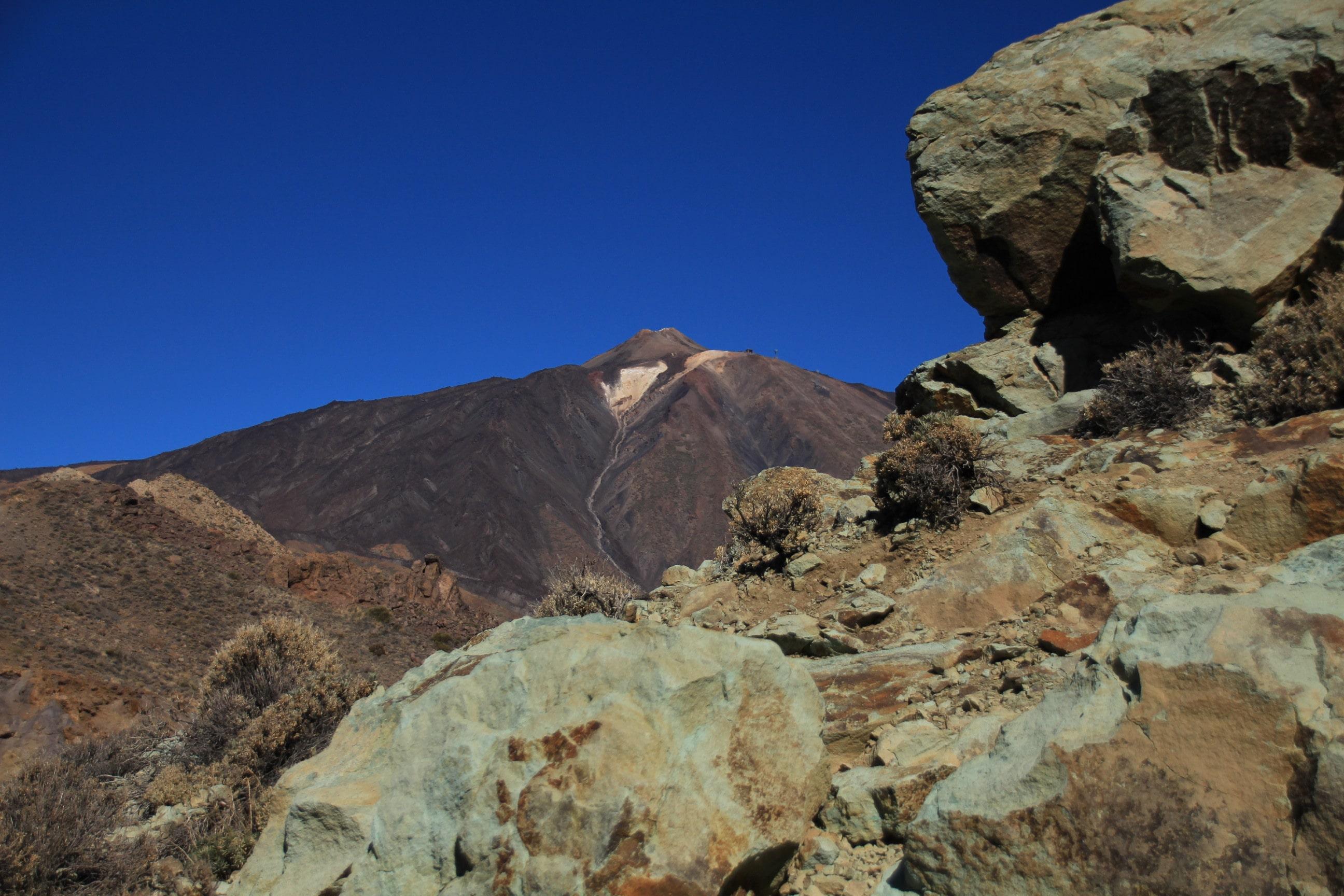 Teneriffa Los Azulejos Teide