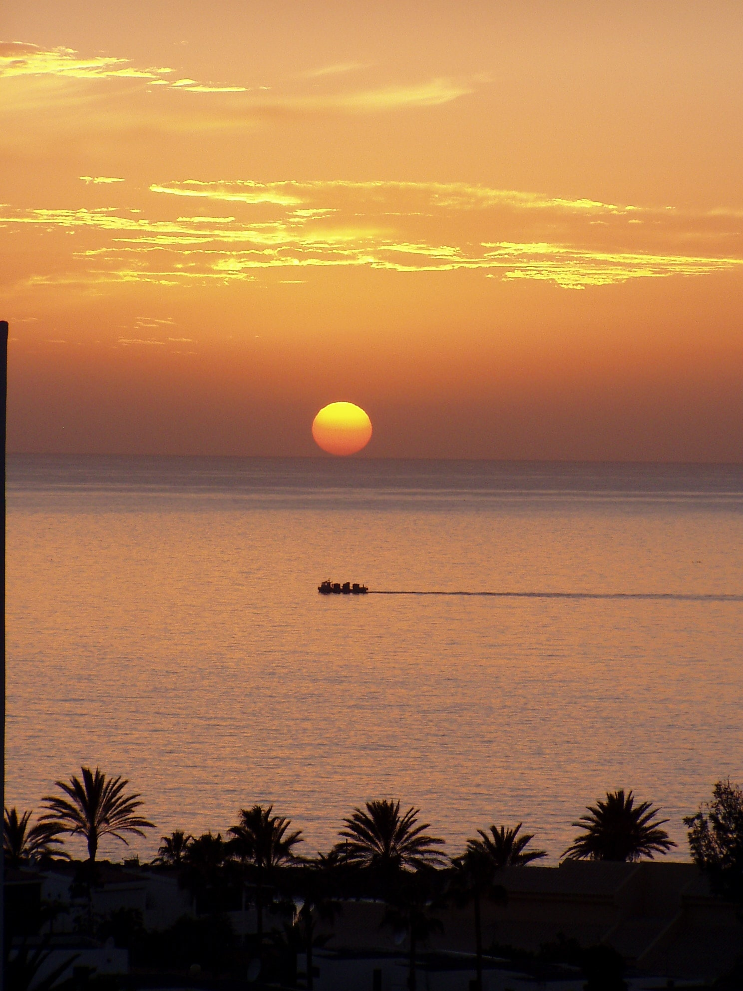 Teneriffa Sonne im Meer