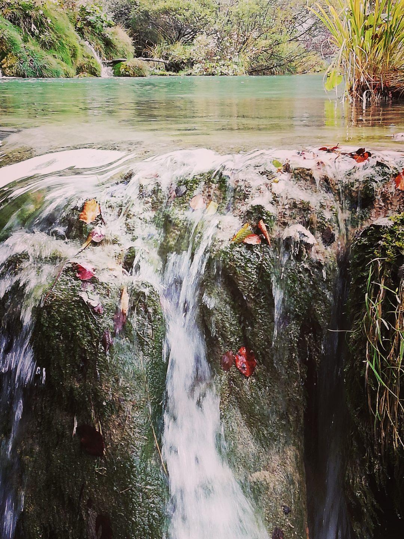 Mini Wasserfall