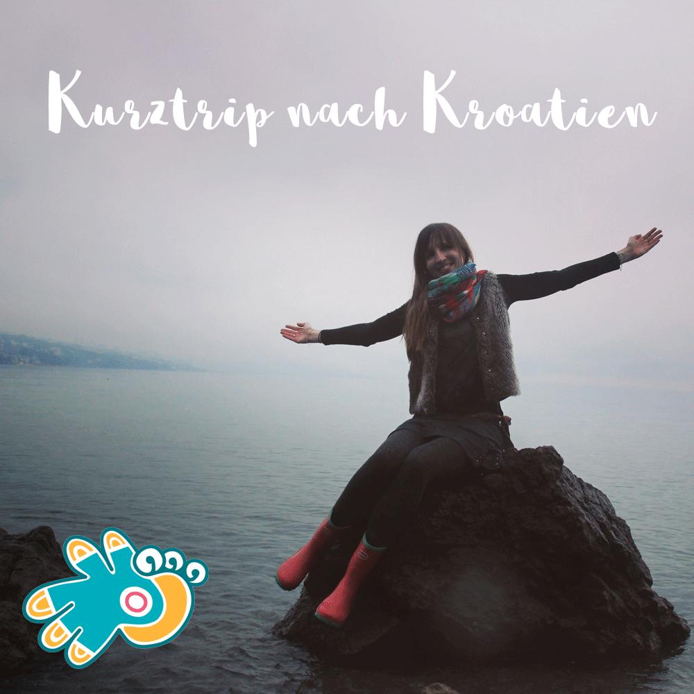 Meerjungfrau mit Gummistiefeln Kroatien