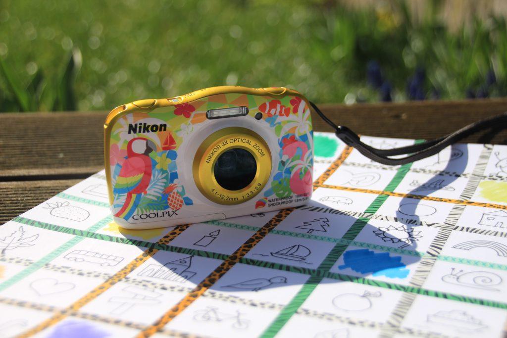 Foto-Bingo mit Kinderkamera