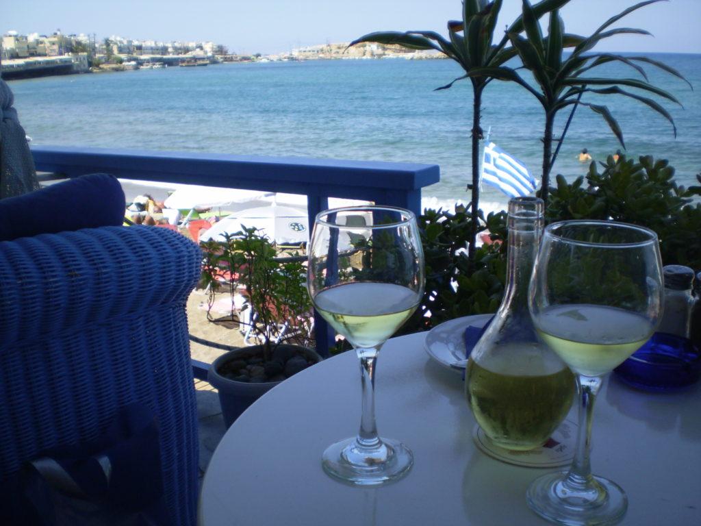 Griechischer Wein auf Kreta