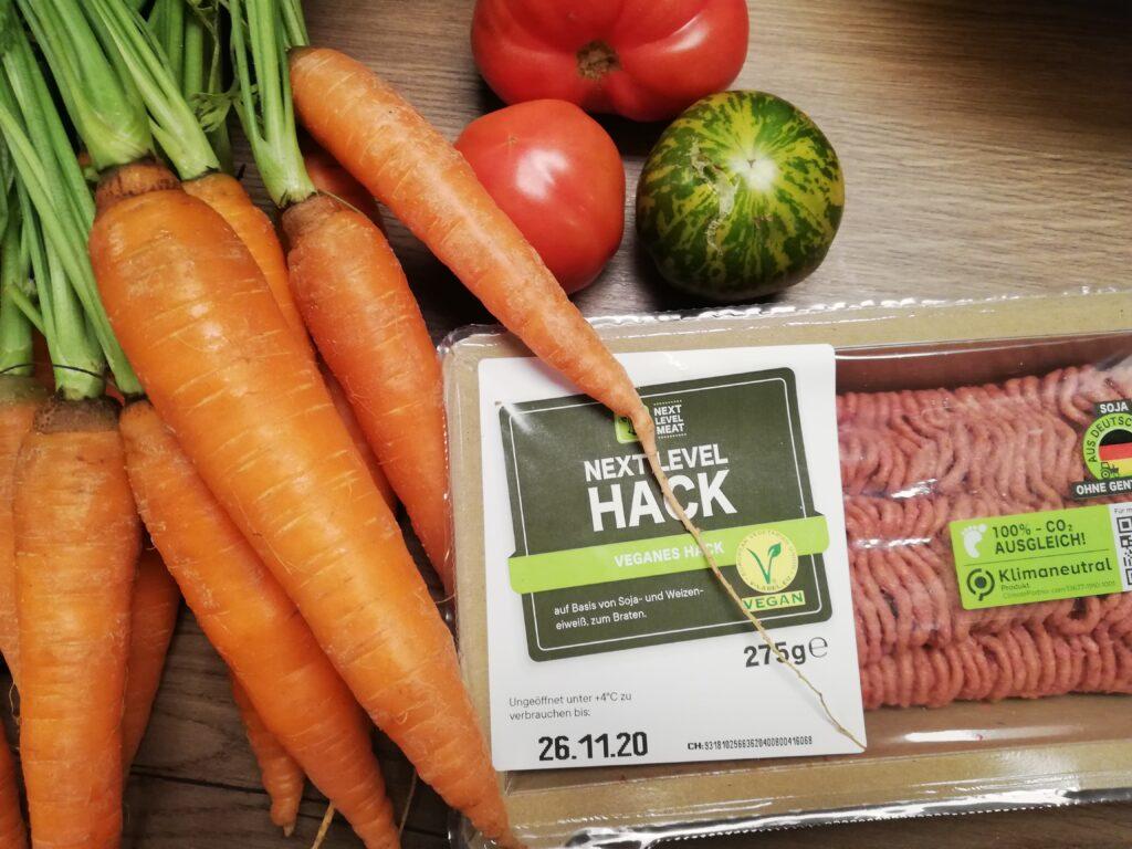 Gemüse und next Level Hack