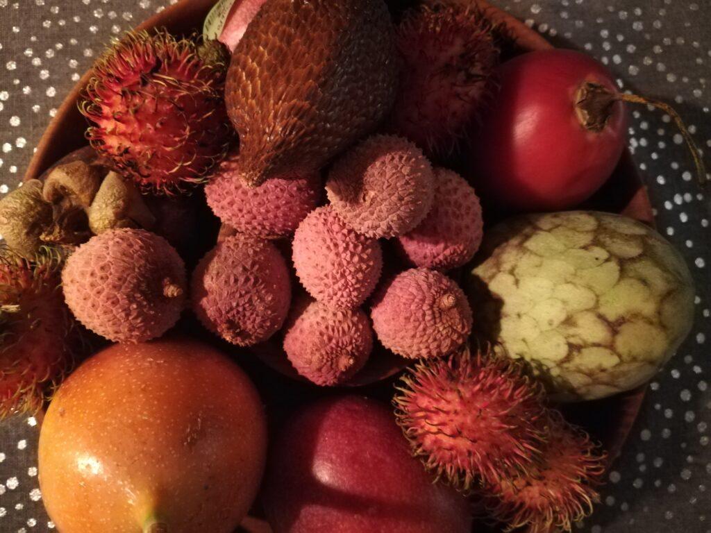 exotisches Obst, Früchte